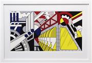 Sale 8282A - Lot 81 - Roy Lichtenstein (1923 - 1997) - Study for Preparedness, 1968 42.5 x 77cm