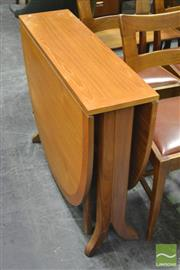 Sale 8364 - Lot 1044A - Teak Drop Leaf Table