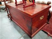 Sale 8676 - Lot 1049 - Large Fitted Trunk