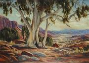 Sale 8881A - Lot 5005 - Terry Gleeson (1934 - 1976) - Ghost Gum 64.5 x 90 cm