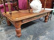 Sale 8925 - Lot 1024 - An oregon pine coffee table by William White