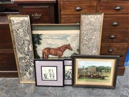 Sale 9139 - Lot 2069 - A Group of assorted artworks including Balinese painting, Chinese watercolour and prints