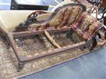 Sale 7919A - Lot 1741 - Early Victorian Carved Rosewood Chaise Lounge (requiring upholstery)