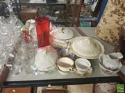 Sale 8548 - Lot 2263 - Vintage China and Glasses