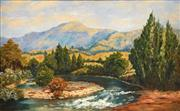 Sale 8665A - Lot 5180 - Artist Unknown - Country Scene, Canberra 37 x 60cm