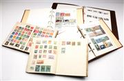 Sale 9086 - Lot 31 - Five Albums of stamps of the world