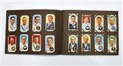 Sale 9090 - Lot 65 - A 1930s Cigarette Card Album of Mainly Cricketers