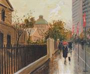Sale 8565 - Lot 503 - Doris Kaminski - Macquarie St. 49.5 x 59.5cm