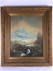 Sale 8607R - Lot 73 - W.A. Donnelly - Watercolour (62.5 x 49.5cm)