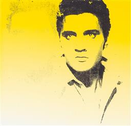 Sale 9187JM - Lot 5079 - ANDY WARHOL (1928 - 1987) Elvis offset digital lithograph on Arches paper, 44/100 37 x 36 cm (frame: 65 x 58 x 3 cm) numbered in pen...
