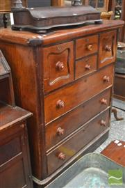 Sale 8317 - Lot 1081 - Late 19th Century Cedar Chest of Seven Drawers, on plinth base (some restorations & replacements)
