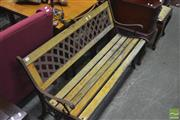 Sale 8341 - Lot 1060 - Outdoor Bench