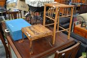 Sale 8465 - Lot 1679 - Two Bamboo Stands