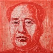 Sale 8652A - Lot 5027 - Adam Chang (1960 - ) - Mao, 2011 73 x 73.5cm