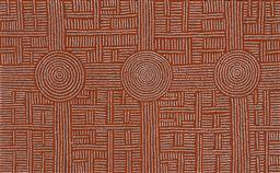 Sale 9239A - Lot 5027 - CHRISTINE CAMPBELL NANGALA (1973 - ) Tingari acrylic on canvas 154 x 95 cm (stretched and ready to hang) signed verso; certificate o...