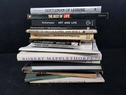 Sale 9254 - Lot 2041 - Collection of Mostly Photographic Books incl. The Photograhy of Rock, ed. A. Hirsch; The Best of Life; Gentleman of Leisure; etc