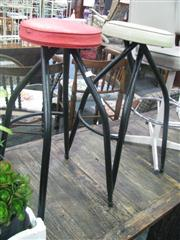 Sale 7933A - Lot 1173 - Pair of Metal Framed Stools
