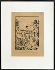 Sale 8306A - Lot 32 - William Dyson (1880 - 1938) - The Gospel of Hate 17.5 x 25cm