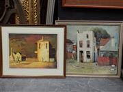 Sale 8417T - Lot 2003 - Pair of framed Decorative Prints after Sali Herman