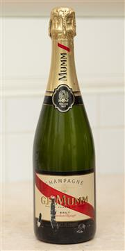 Sale 8902H - Lot 52 - Mumm Champagne 750ml