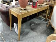 Sale 8896 - Lot 1022 - Timber Hall Table with Parquetry Top