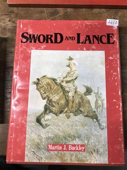 Sale 9101 - Lot 2272 - Buckley, Martin J. Sword & Lance, pub. M.J. Buckley, Lismore, 1988