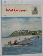 Sale 8431B - Lot 61 - Front cover, Surf Ski Action at Burleigh Heads (QLD) in Walkabout January 1959