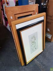 Sale 8609 - Lot 2086 - Group of (6) Decorative Prints, Framed & Various Sizes