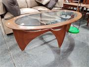 Sale 8908 - Lot 1082 - Atmos G-Plan Coffee Table With Glass Top