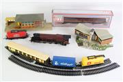 Sale 8926 - Lot 20 - A Large Collection of Locomotives inc Trains, Tracks and Accessories