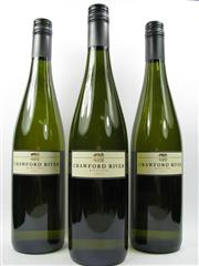 Sale 8238 - Lot 1671 - 3x 2013 Crawford River Riesling, Henty