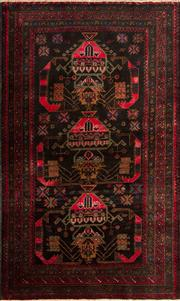 Sale 8370C - Lot 41 - Persian Baluchi 120cm x 188cm
