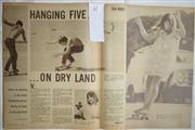 Sale 8431B - Lot 62 - Article, New Surfing Craze – Hanging Five on Dry Land, 3 pages