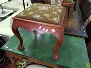 Sale 8566 - Lot 1363 - Footstool