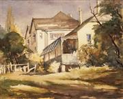 Sale 8622 - Lot 2047 - Mary E Neill - The Colonial Home 39 x 48cm