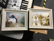 Sale 8726 - Lot 2069 - Pair of Original Paintings by Clare Goodwin