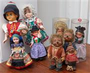 Sale 8990H - Lot 68 - A group of Hungarian dolls