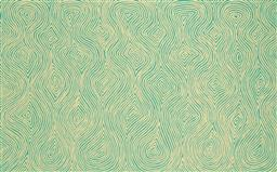 Sale 9239A - Lot 5026 - JAKE TJAPALTJARRI (1970 - ) Tingari acrylic on canvas 150 x 96 cm (stretched and ready to hang) signed verso; certificate of authent...