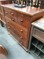 Sale 8717 - Lot 1056 - Timber Chest of Drawers