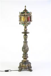Sale 8889 - Lot 1050 - Brass Moroccan Style Lamp