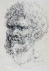 Sale 3770 - Lot 34 - ARTHUR MURCH (1902-1989) - Aboriginal Portrait, 1934 34.5 x 24.5 cm