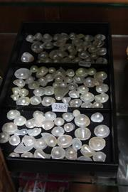 Sale 8169 - Lot 2365 - Tray of Nacre Blister Pearl