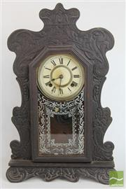 Sale 8494 - Lot 5 - Ansonia Mantle Clock