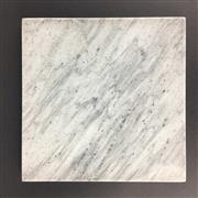 Sale 8550K - Lot 108 - Grey Marble Square Pot Stand / Display Board, 20cm