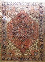 Sale 8826 - Lot 1078 - Persian Hand Knotted Woollen Rug (410 x 290cm)