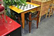 Sale 7987A - Lot 1165 - Games Table With Two Chairs