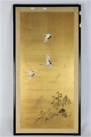 Sale 8391 - Lot 32 - Chinese Painting on Silk