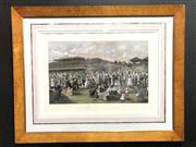 Sale 8793 - Lot 50 - Carl Kahler, pair of C19th hand coloured lithographs, Melbourne, 1 July 1889
