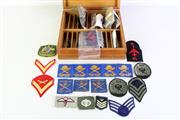 Sale 8968 - Lot 84 - Boxed Collection Of Patches Incl Australian RAAF