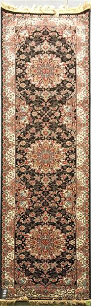 Sale 8601 - Lot 1021 - Turkish Kashan Runner (300 x 80cm)